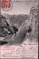 Cpa Jungfraubahn Rotstockpanorama - 1906 - Ecrite Depuis Interlaken - Edition Illustrato Luzern - BE Berne