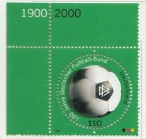 PIA - GER- 2000 : Centenario Della Federazione Tedesca Dl Gioco Del Calcio - (Yv 1922) - Nuovi
