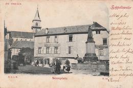 Carte Postale Ancienne Du Haut Rhin - Rappostsweiler - Sinnplatz - Vers 1900 - Ribeauvillé