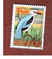 MOZAMBICO (MOZAMBIQUE)   - SG   1152  -  1987  BIRDS: WOODLAND KINGFISHER  -  USED - Mozambico