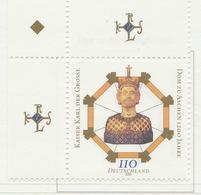 PIA - GER- 2000 : 12° Centenario Della Cattedrale Di Aix  - (Yv 1925) - [7] Repubblica Federale