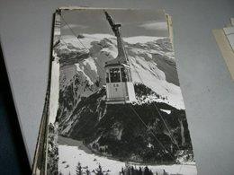 CARTOLINA FUNIVIA LUFTSEILBAHN ENGELBERG BRUNNI - Cartoline