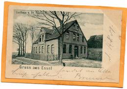 Gruss Aus Essel Germany 1901 Postcard - Other
