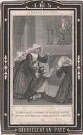 Joanna Francisca Lecluyse-oostende 1811-1877-loopt Boven In Een Boogje Midden - Devotieprenten