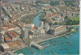 SINGAPORE - Air View Of Singapore With Singapore River  Nice Stamp - Singapore