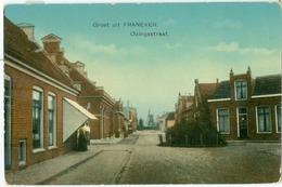 Franeker; Ozingastraat (met Molen) - Niet Gelopen. (Nauta - Velsen) - Franeker