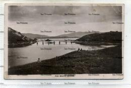 Shetland Postcard Roe Sound Bridge Used 1920s Era Postcard - Shetland