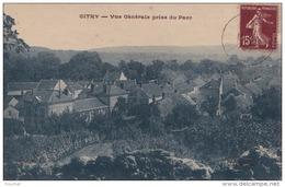 A26 - 77) CITRY  (SEINE ET MARNE)  VUE GENERALE PRISE DU PARC - Frankreich