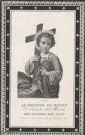 Antoine Ledoux-lavaux-sainte-anne 1846-maredsous 1897-abdij De Maredsous - Devotieprenten