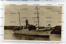 Shetland Postcard SS St Sunniva At Lerwick M&L National Series - Shetland