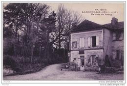 DA6- 47) LAMOTHE D 'ALLES (LOT ET GARONNE) UN COIN DU BOURG  - (EPICERIE - 2 SCANS) - France