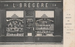 75017--PARIS--HORLOGERIE-L.BREGERE-114 RUE DES DAMES--VOIR SCANNER - Paris (17)
