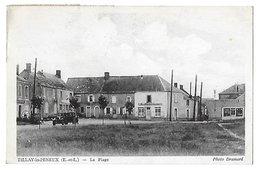 TILLAY Le PENEUX     La Place      (recto Verso) - France
