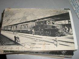 CARTOLINA SIMPLON EXPRESS - Treni
