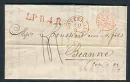 Pays Bas - Lettre Avec Texte De Rotterdam Pour La France En 1844 - Réf S16 - ...-1852 Precursores