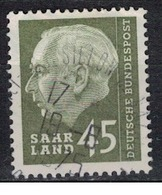 SARRE             N°     YVERT     374   OBLITERE       ( Ob  5/28 ) - Used Stamps