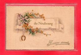 27-CPA LE NEUBOURG - BONNE ANNEE - Le Neubourg