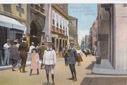 AM53 Waterport Street With Post Office, Gibraltar, 1920's - Gibraltar