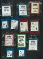 32 Paquets De Pochettes Hawid Ou Autres, Différents Formats - Otros Materiales