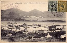 1508/ Nouvelle-Caledonie, Noumea Partie Nord-Quest Et Ile Nou Dans Le Lointain - Nouvelle Calédonie