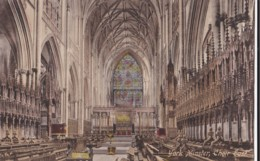 AN44 York Minster, Choir East - York