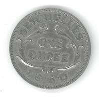 SEYCHELLES - ONE RUPEE 1960 - Seychellen