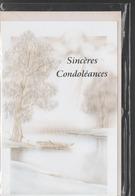 SINCERES CONDOLEANCES - Funérailles