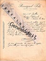 03 0150 YZEURE ALLIER Et  NEUILLY SUR SEINE 92 1910 Maison ROSSIGNOL Fils Agent E. MEUNIER  Rue Romain - Profumeria & Drogheria