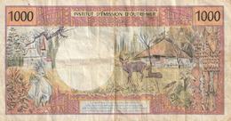 Billet 1000 F Cfp IEOM - Frans Pacific Gebieden (1992-...)