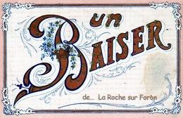 "74- LA ROCHE SUR FORON ""Un Baiser"" Ajoutis Brillants - La Roche-sur-Foron"