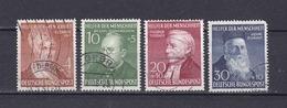 BRD - 1952 - Michel Nr. 156/159 - Gest. - 100 Euro - BRD