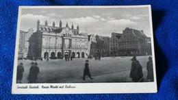 Seestadt Rostock, Neue Markt Mit Rathaus Germany - Rostock