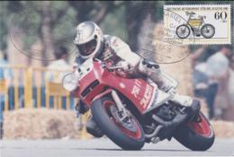 Germany Card Blieskastel 6 1987 Moto Cross Weltmeisterschaft - Grosser Preis Von Deutscland (T13-43A) - Motorbikes