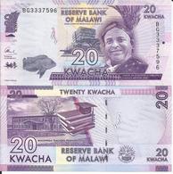 MALAWI - 20 KWACHA - 2017 - UNC - Malawi
