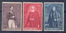 BELGIE - OBP Nr 302/304 - 3 Koningen - MH* - Belgium