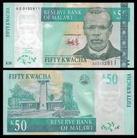 MALAWI - 50 KWACHA - 2003 - UNC - Malawi