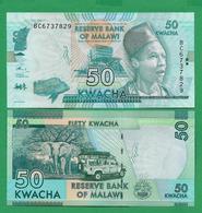 MALAWI - 50 KWACHA - 2016 - UNC - Malawi