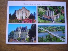 CPM Sancoins Et Ses Alentours, Sagonne, Apremont, Guétin, Donjon De Jouy - France