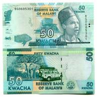 MALAWI - 50 KWACHA - 2017 - UNC - Malawi