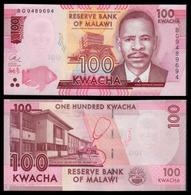 MALAWI - 100 KWACHA - 2017 - UNC - Malawi