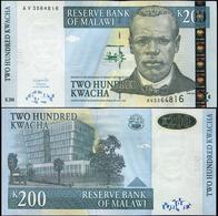 MALAWI - 200 KWACHA - 2003 - UNC - Malawi