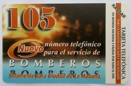 CUBA - Bomberos,  Tirage 210.000, 07/03, Mint - Cuba