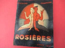 Catalogue-Tarif/ Fonderie/ Chauffage-Cuisine/ Société Anonyme Des Usines  De ROSIERES/Bourges/ 1937  CAT256 - Altri