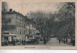DIGNE LES BAINS  LE BOULEVARD THIERS - Digne