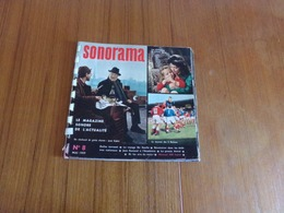 """"""" Sonorama """" N° 8, Mai 1959, Le Magazine Sonore De L'actualité - Musique & Instruments"""