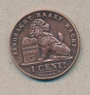 België/Belgique 1 Ct Leopold II 1907 Vl Morin 235 (893129) - 01. 1 Centime