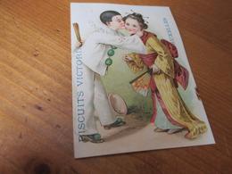 Chromo,Biscuits Victoria, Koekelberg Bruxelles - Trade Cards