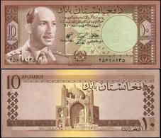 Afghanistan 10 Afganis. ١٣٤٠ (1961) Unc. Banknote Cat# P.37a - Afghanistan
