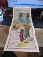 Superbe Affiche ,PLAZA DE TOROS Valencia ,mesure 21 Cm  X  50 Cm  ,,du 27 Mai 1900    (( Lot 476 )) - Posters