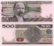 MEXICO - 500 PESOS - 1982 - UNC - Mexico
